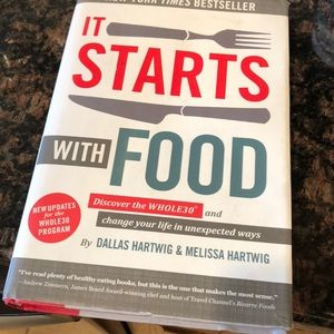 It starts with food- hard cover